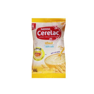 Cerelac Infant Cereal Wheat With Milk Sachet 50g