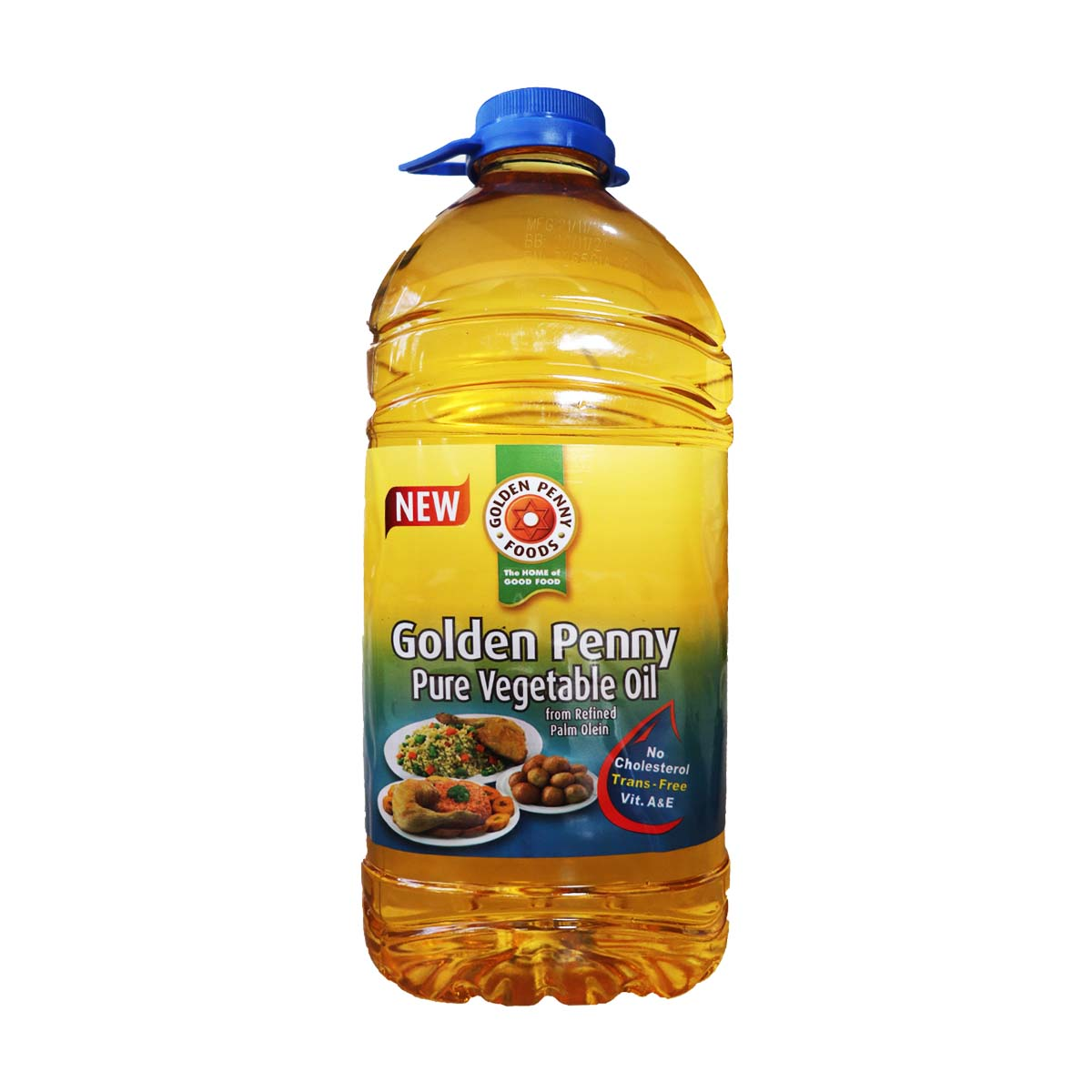 Golden Penny Pure Vegetable Oil 4 Liters