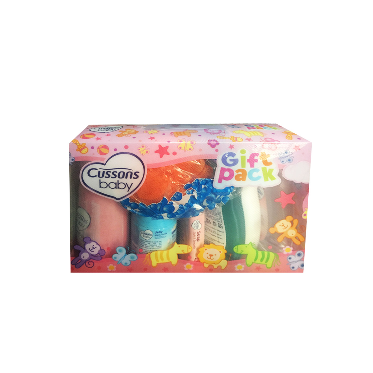 Cussons Baby Gift Pack Pink x 7