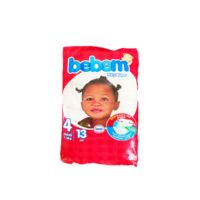 Bebem Carry Pack Baby Diaper (Size 4 Maxi) x 13