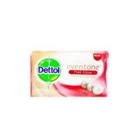 Dettol Even Tone Pink Glow Anti-Bacterial Bar Soap 110g